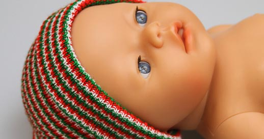 Christmas Neonatal Hats