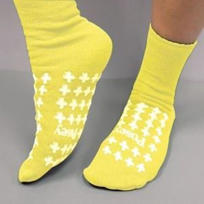 Picture of Yellow Slipper Socks (Medium) Premium
