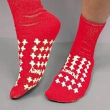 Picture of Red Slipper Socks (Medium) Premium