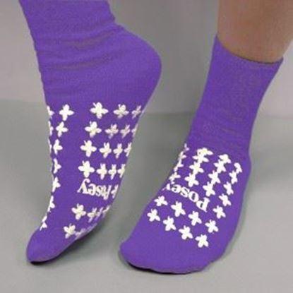 Picture of Purple Slipper Socks (Medium) Premium