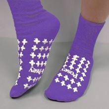 Picture of Purple Slipper Socks (Large) Premium