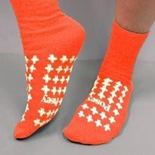 Picture of Orange Slipper Socks (Large) Premium