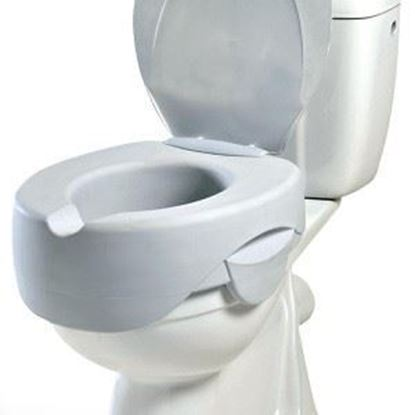 Picture of REHOSOFT Soft Raised Toilet Seat