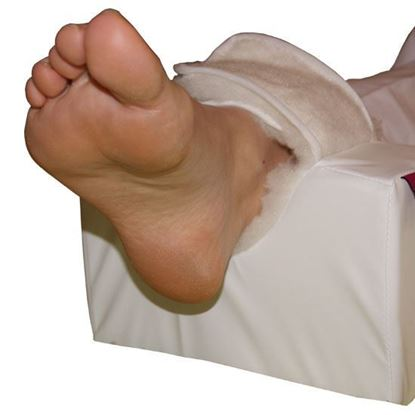 Picture of Rectangular Heel Pad- White