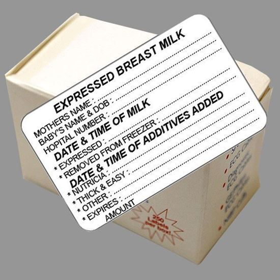 Picture of Express Breast Milk Labels (Date Added)